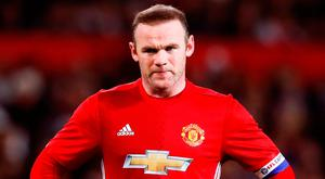 Rooney surpassed Bobby Charlton's scoring records for United and England, he won a Manchester derby with a bicycle kick which had manager Alex Ferguson, not always his warmest admirer, reaching unsuccessfully for a comparison. Photo credit: Martin Rickett/PA Wire.