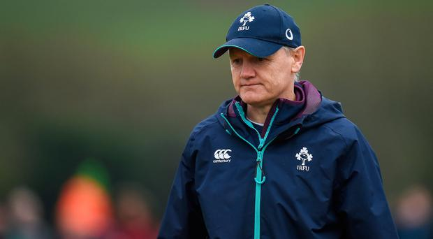 Ireland head coach Joe Schmidt. Photo: Seb Daly/Sportsfile