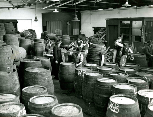 Jameson's workers in 1945