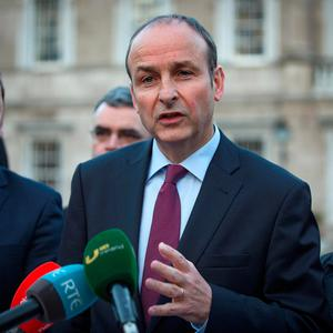 Micheál Martin has complained that the new rent controls are based on incomplete data but nobody has followed it up Picture: Arthur Carron