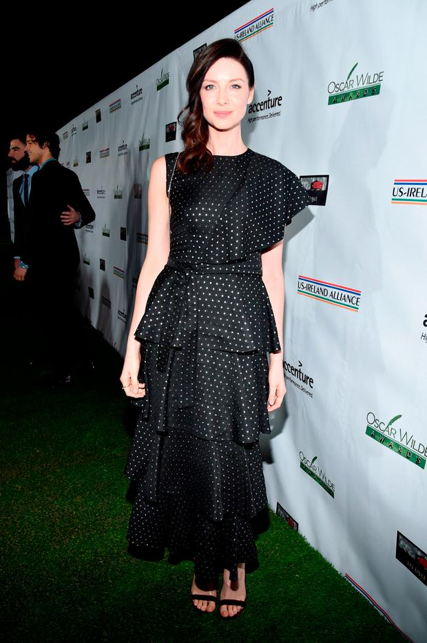Honoree Caitriona Balfe attends the 12th Annual US-Ireland Aliiance's Oscar Wilde Awards event at Bad Robot on February 23, 2017 in Santa Monica, California. (Photo by Alberto E. Rodriguez/Getty Images for US-Ireland Alliance )