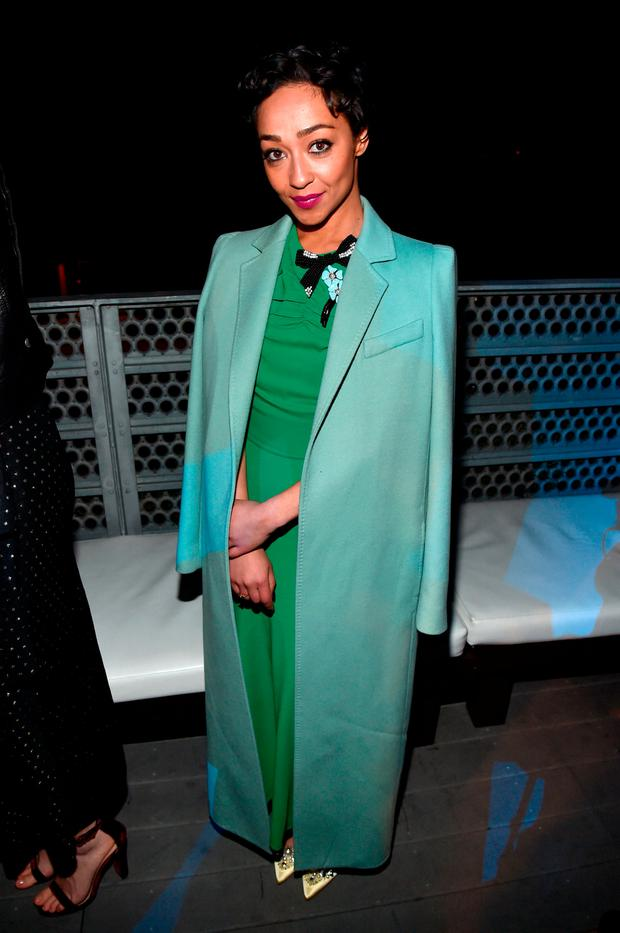 Honoree Ruth Negga attends the 12th Annual US-Ireland Aliiance's Oscar Wilde Awards event at Bad Robot on February 23, 2017 in Santa Monica, California. (Photo by Alberto E. Rodriguez/Getty Images for US-Ireland Alliance )