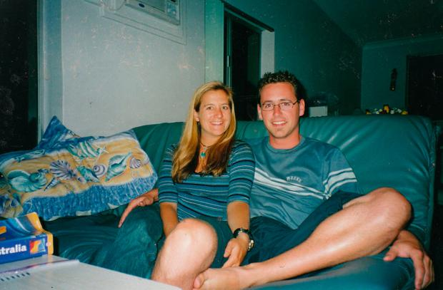 Shannon, originally from California, and Sean, who was from Australia (Photo supplied)