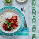Mary Berry's squash and black bean chilli
