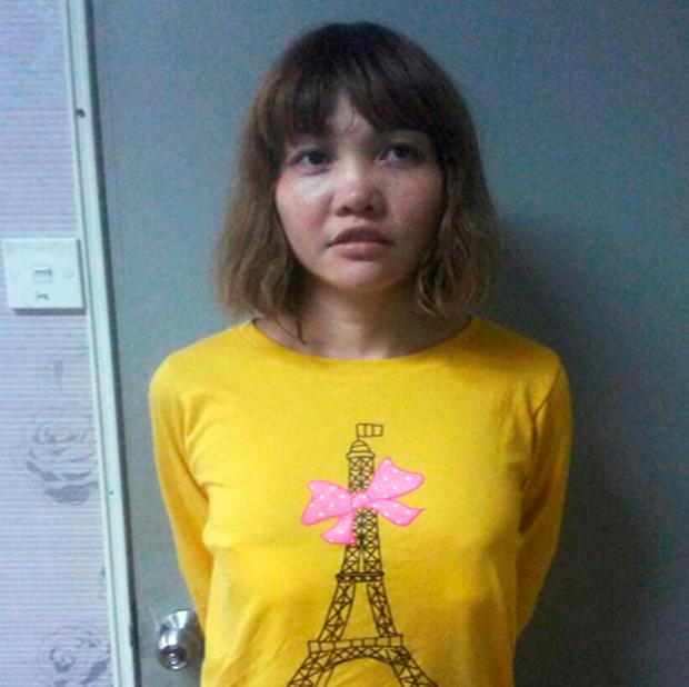 Vietnamese Doan Thi Huong is seen in this undated handout released by the Royal Malaysia Police: Royal Malaysia Police/Handout via Reuters/File Photo