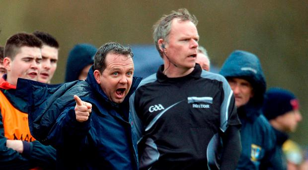 Limerick IT manager Davy Fitzgerald during the Independent.ie HE GAA Fitzgibbon Cup semi-final meeting between Mary Immaculate College Limerick and Limerick IT at Dangan, in Galway. Photo by Piaras Ó Mídheach/Sportsfile