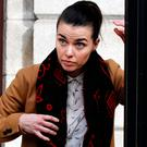 Violinist Hilda O'Mahony of Ballyfinnan, Ardnacrusha, Co Clare, leaving court. Photo: CourtPix