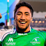 The return of Bundee Aki will be a huge boost for Connacht Photo: Ramsey Cardy/Sportsfile