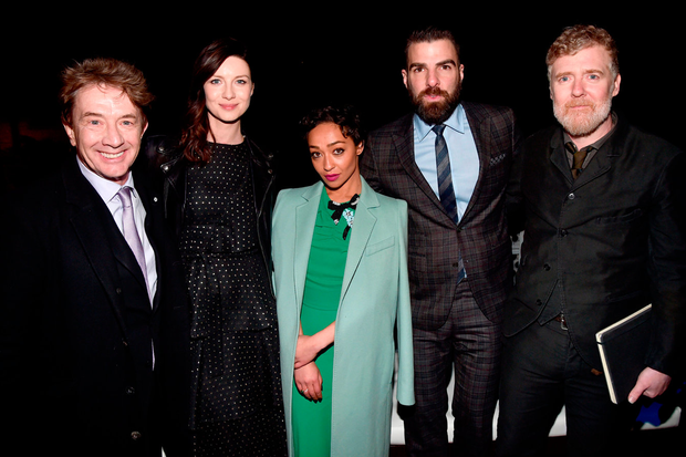 Martin Short, Caitriona Balfe, Ruth Negga, Zachary Quinto, and Glen Hansard (Photo by Alberto E. Rodriguez/Getty Images for US-Ireland Alliance )