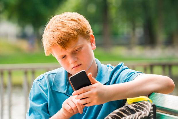 There are technical solutions to monitoring or preventing certain forms of communication on kids' devices (Stock picture)