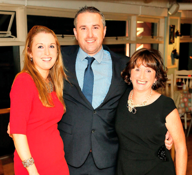 Melissa, Greg and Marian O'Gorman at the Nassau Street store in 2014. The Kilkenny Group made a €1m profit in its 2016 financial year Picture: Kieran Hartnett