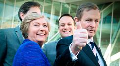 Enda Kenny led Fine Gael with relentless energy, tenacity and determination over 15 years Picture: Tom Burke