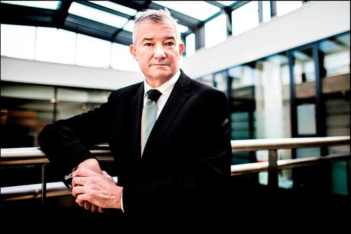 Bank of Ireland chief executive Richie Boucher said the bank was always looking at opportunities. Photo: David Conachy