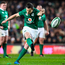 Ireland's Jonathan Sexton takes a penalty kick. Photo: Getty