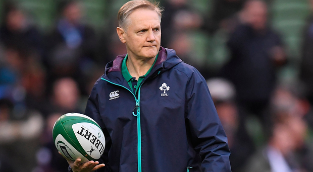 Joe Schmidt praised the control provided by Jonathan Sexton. Photo: Sportsfile