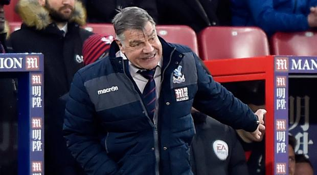 Crystal Palace manager Sam Allardyce. Photo: Reuters