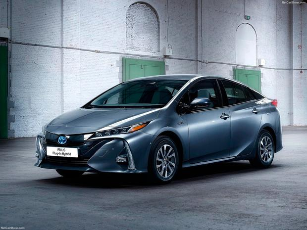 Green machine: the new plug-in Toyota Prius is efficient