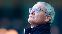 Leicester City sacked manager Claudio Ranieri nine months after winning the Premier League title. Photo: Clive Rose/Getty Images