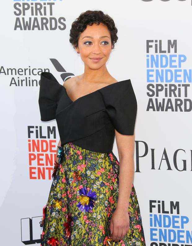 Ruth Negga attends the 2017 Film Independent Spirit Awards, in Santa Monica, California, on February 25, 2017. / AFP / JEAN-BAPTISTE LACROIX (Photo credit JEAN-BAPTISTE LACROIX/AFP/Getty Images)