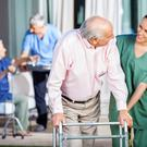 Nursing home. Stock photo