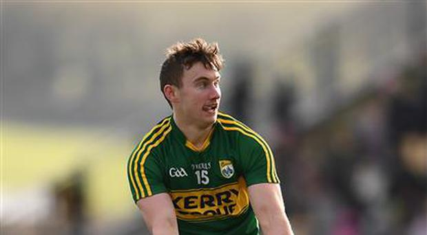 James O'Donoghue in action for Kerry.