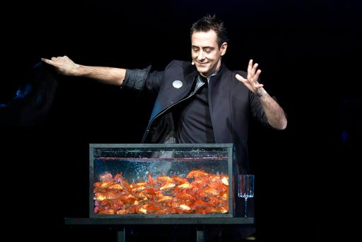 Portuguese magician Luis de Matos thrills the audience