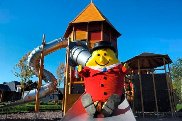 Take the children to Tayto Park