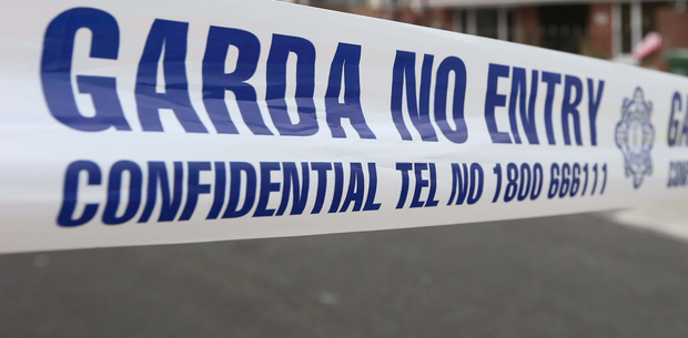 The scene is preserved for examination by Garda forensic collision investigators. Stock picture