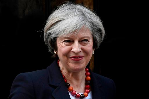 UK Prime Minister Theresa May to announce plan in March. Photo: REUTERS