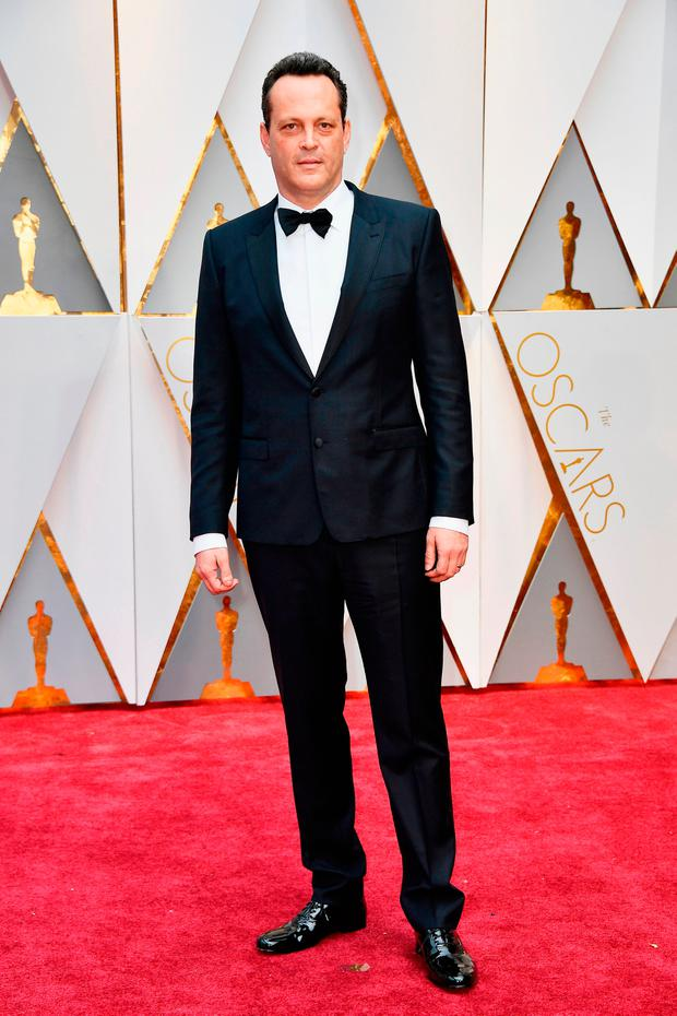 Actor Vince Vaughn attends the 89th Annual Academy Awards at Hollywood & Highland Center on February 26, 2017 in Hollywood, California. (Photo by Frazer Harrison/Getty Images)
