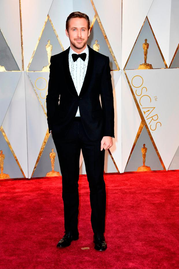 Actor Ryan Gosling attends the 89th Annual Academy Awards at Hollywood & Highland Center on February 26, 2017 in Hollywood, California. (Photo by Frazer Harrison/Getty Images)