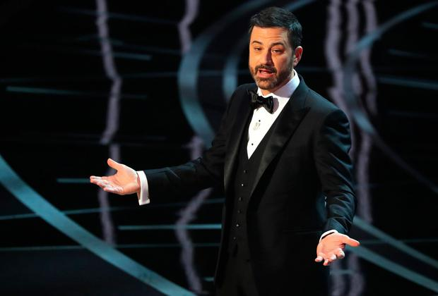 Jimmy Kimmel hosts the Oscars. REUTERS/Lucy Nicholson