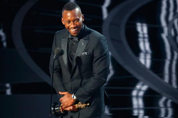 Best Supporting Actor winner Mahershala Ali. REUTERS/Lucy Nicholson