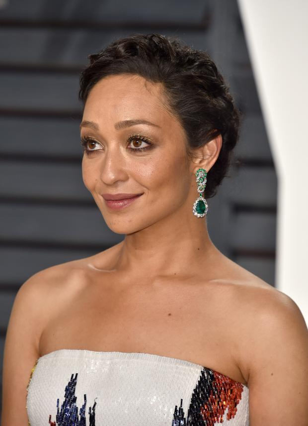Actress Ruth Negga attends the 2017 Vanity Fair Oscar Party hosted by Graydon Carter at Wallis Annenberg Center for the Performing Arts on February 26, 2017 in Beverly Hills, California. (Photo by Alberto E. Rodriguez/WireImage)