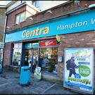 Quinn's Centra at Hampton Wood where the robbery took place. Pic Steve Humphreys
