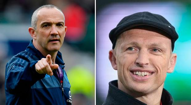 Conor O'Shea has hit back at Matt Dawson