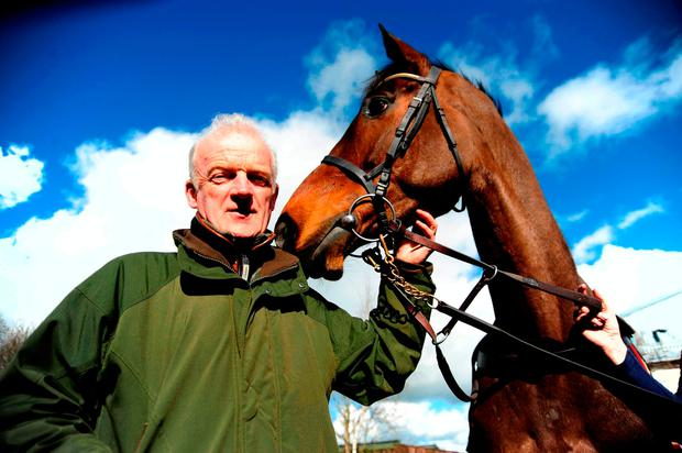 Willie Mullins with Douvan