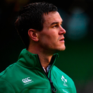 Now that he's got a game under his belt, Johnny Sexton believes he will have more to offer Ireland's cause against Wales. Photo: Brendan Moran/Sportsfile