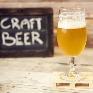 The craft beers were created by the 9 White Deer Brewery, which was formed in 2014. Stock image