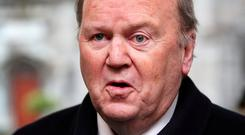 Former health minister Michael Noonan. His then office requested a health board report Photo: Steve Humphreys
