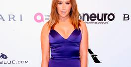 Actor Ashley Tisdale attends the 25th Annual Elton John AIDS Foundation's Academy Awards Viewing Party at The City of West Hollywood Park on February 26, 2017 in West Hollywood, California. (Photo by Frederick M. Brown/Getty Images)