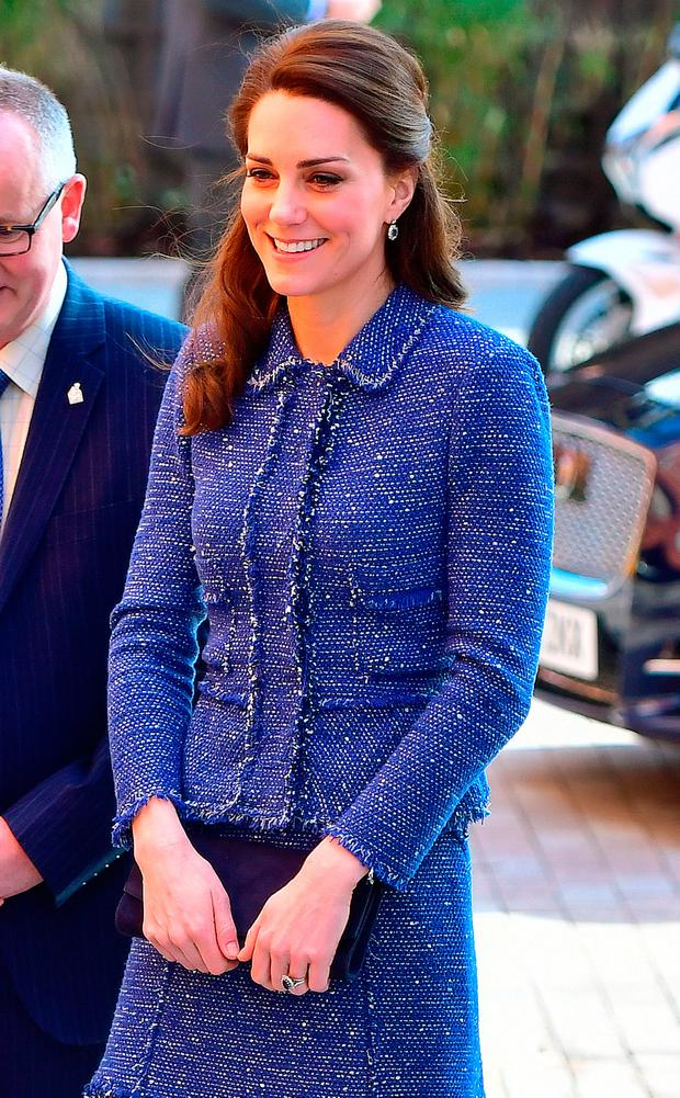 The Duchess of Cambridge arrives at the Ronald McDonald House Evelina London to open their 'home away from home' accommodation for the families of children treated at Evelina London Children's Hospital.