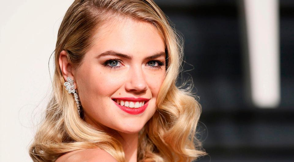 Kate Upton at the Oscars Vanity Fair Party 2017. Picture: REUTERS/Danny Moloshok