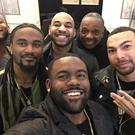 Mark Ingram and his New Orleans team-mates.