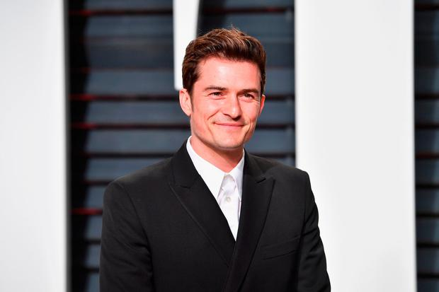 Actor Orlando Bloom attends the 2017 Vanity Fair Oscar Party hosted by Graydon Carter at Wallis Annenberg Center for the Performing Arts on February 26, 2017 in Beverly Hills, California. (Photo by Pascal Le Segretain/Getty Images)