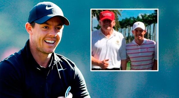 Rory McIlroy admits he did not expect the backlash he received for his round of golf with United States President Donald Trump