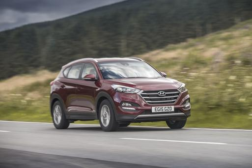Hyundai Tuscon is Ireland's best selling car of 2017