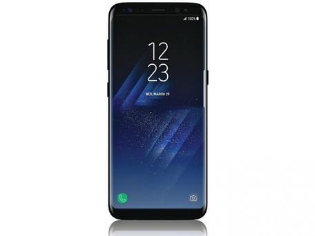 Samsung has trimmed down the S8's bezels to help keep it relatively compact, but the move could prove problematic for customers Evan Blass/Twitter