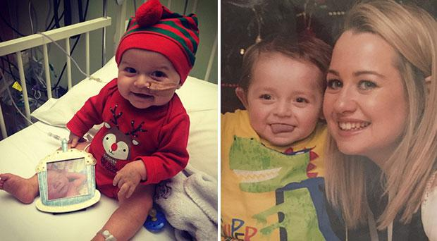James (3) will start play-school in September after a successful bone marrow transplant