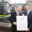 Pictured is An Taoiseach Enda Kenny TD with Mr. Brent Saunders Allergan's Chairman, President and Chief Executive.